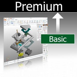 Upgrade Basic auf Premium inkl. 3D-NativeCAD Converter